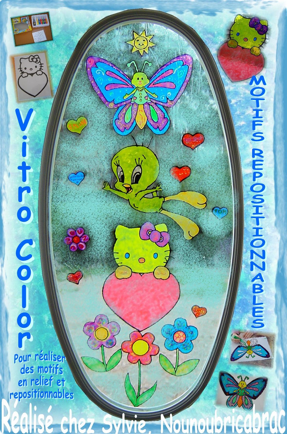 Avec Vitro Color... réalisez les motifs que vous désirez !!!