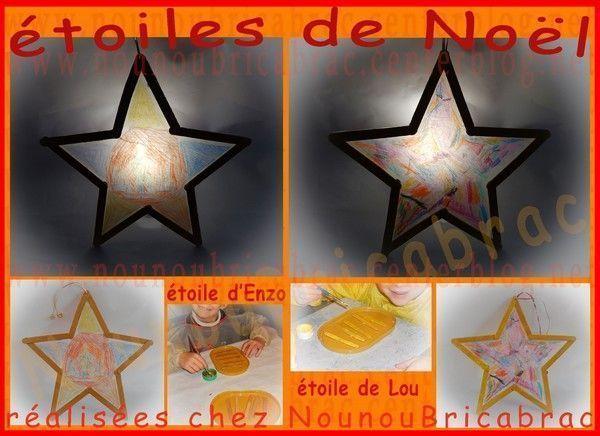 Étoiles de Noël - Lou et Enzo