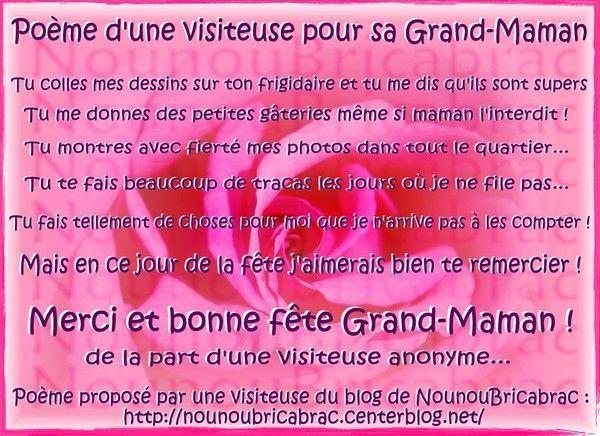 Moi ma grand m re centerblog for Au jardin de ma grand mere