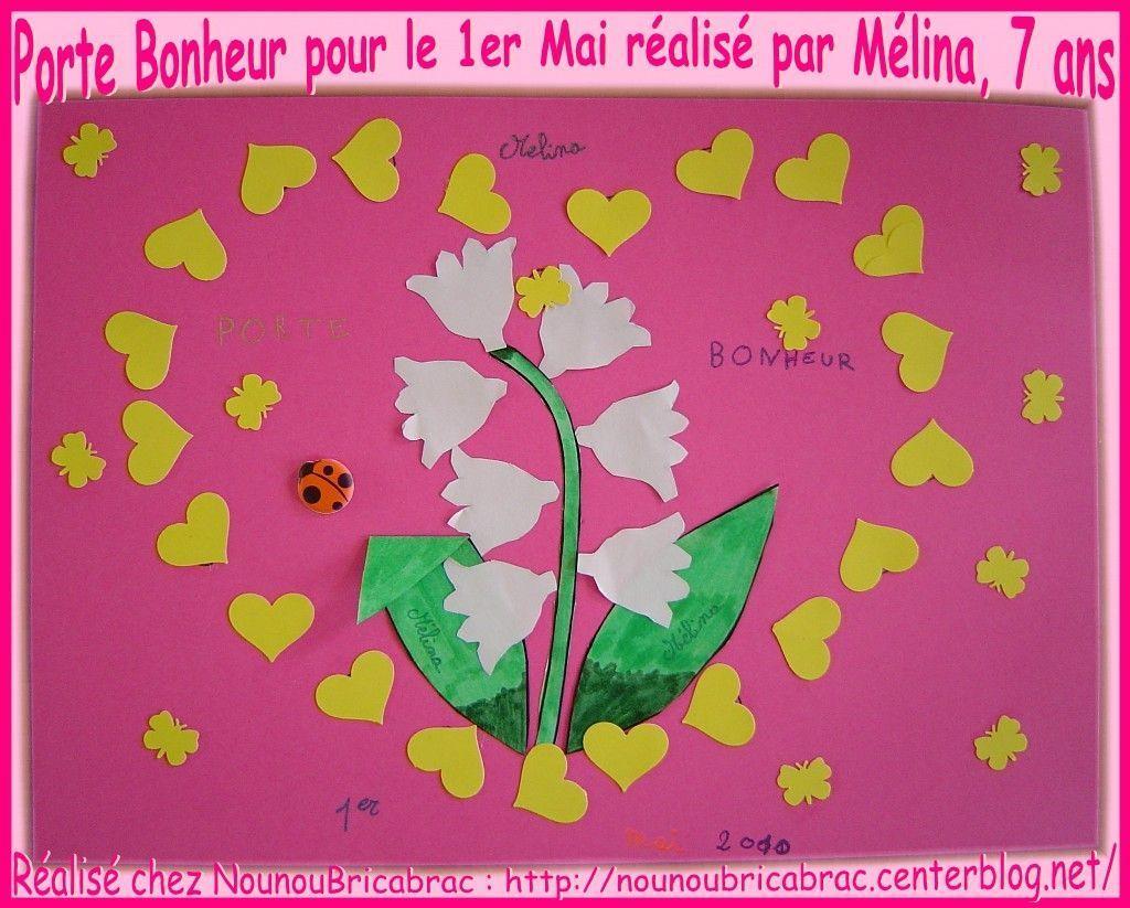 Porte Bonheur pour le 1er Mai, réalisé par Mélina, 7 ans
