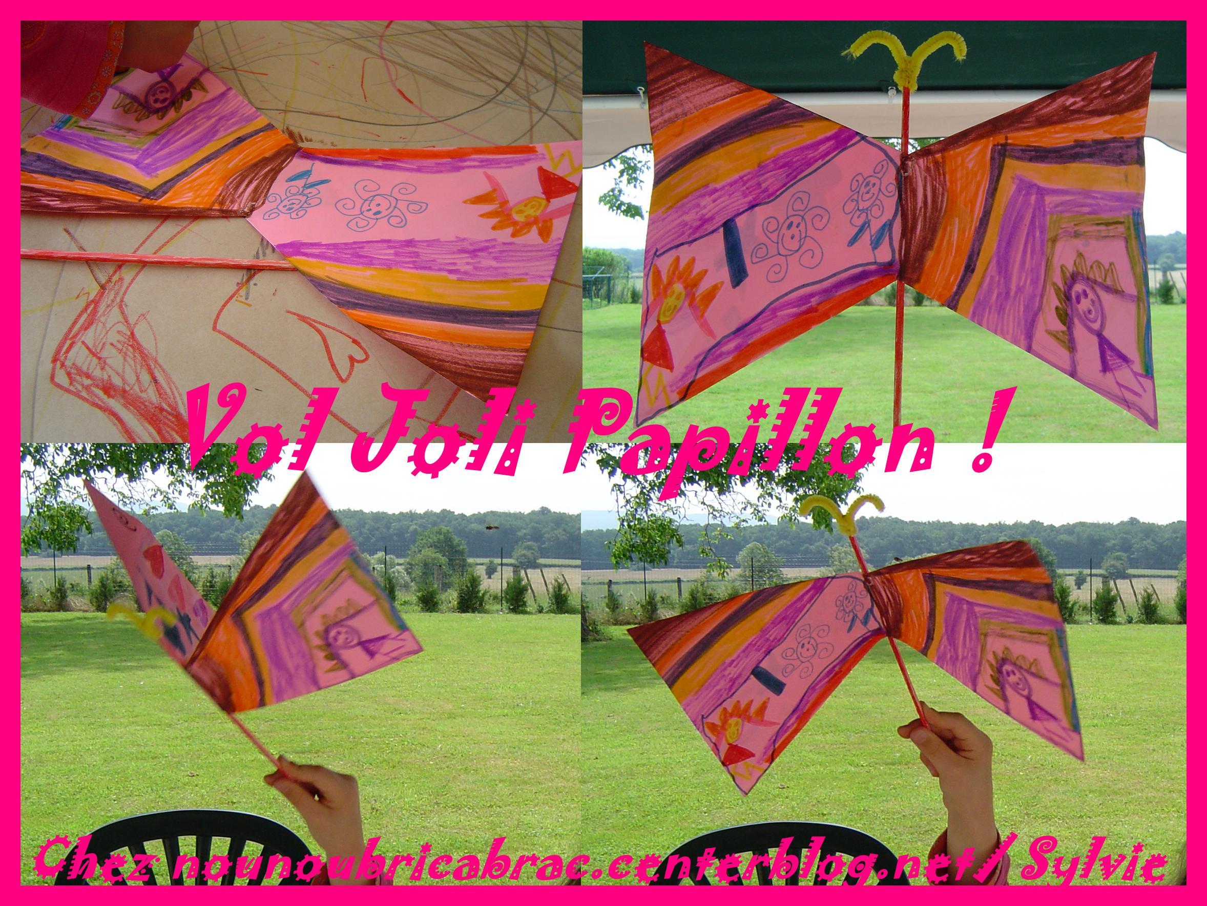Papillon décoré...