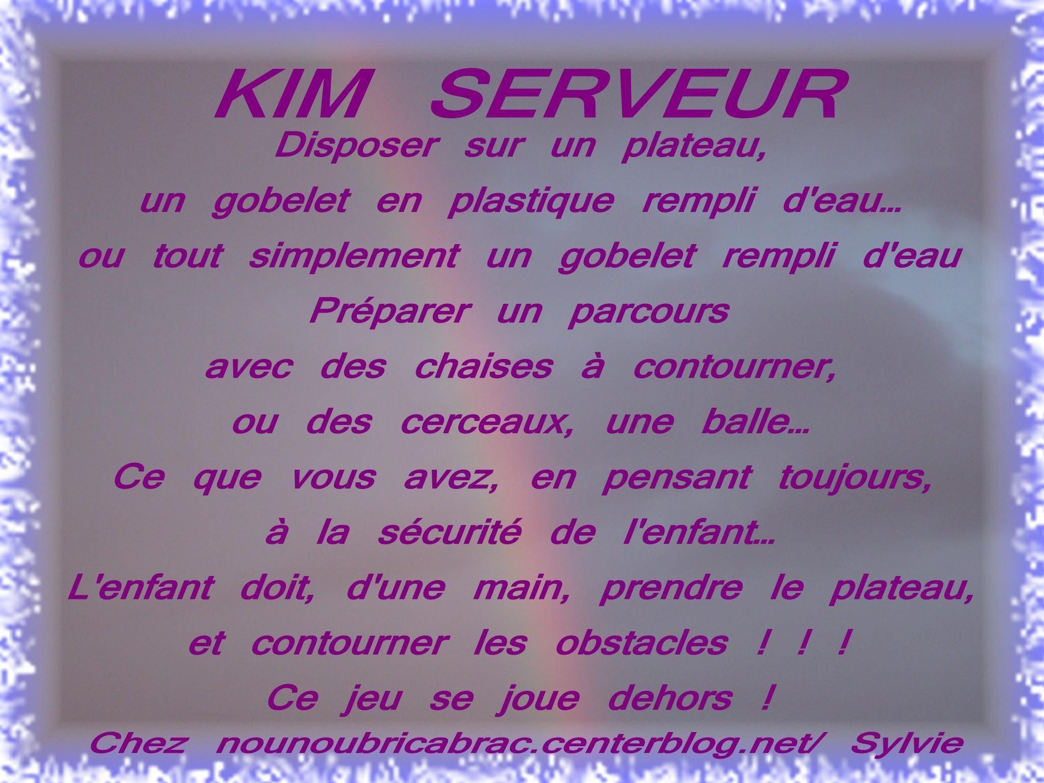 KIM SERVEUR