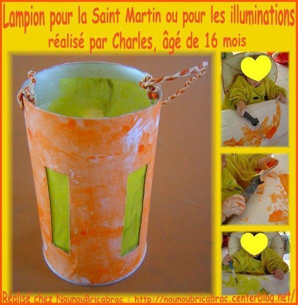 Lampion pour la Saint Martin ou les illuminations de Charles