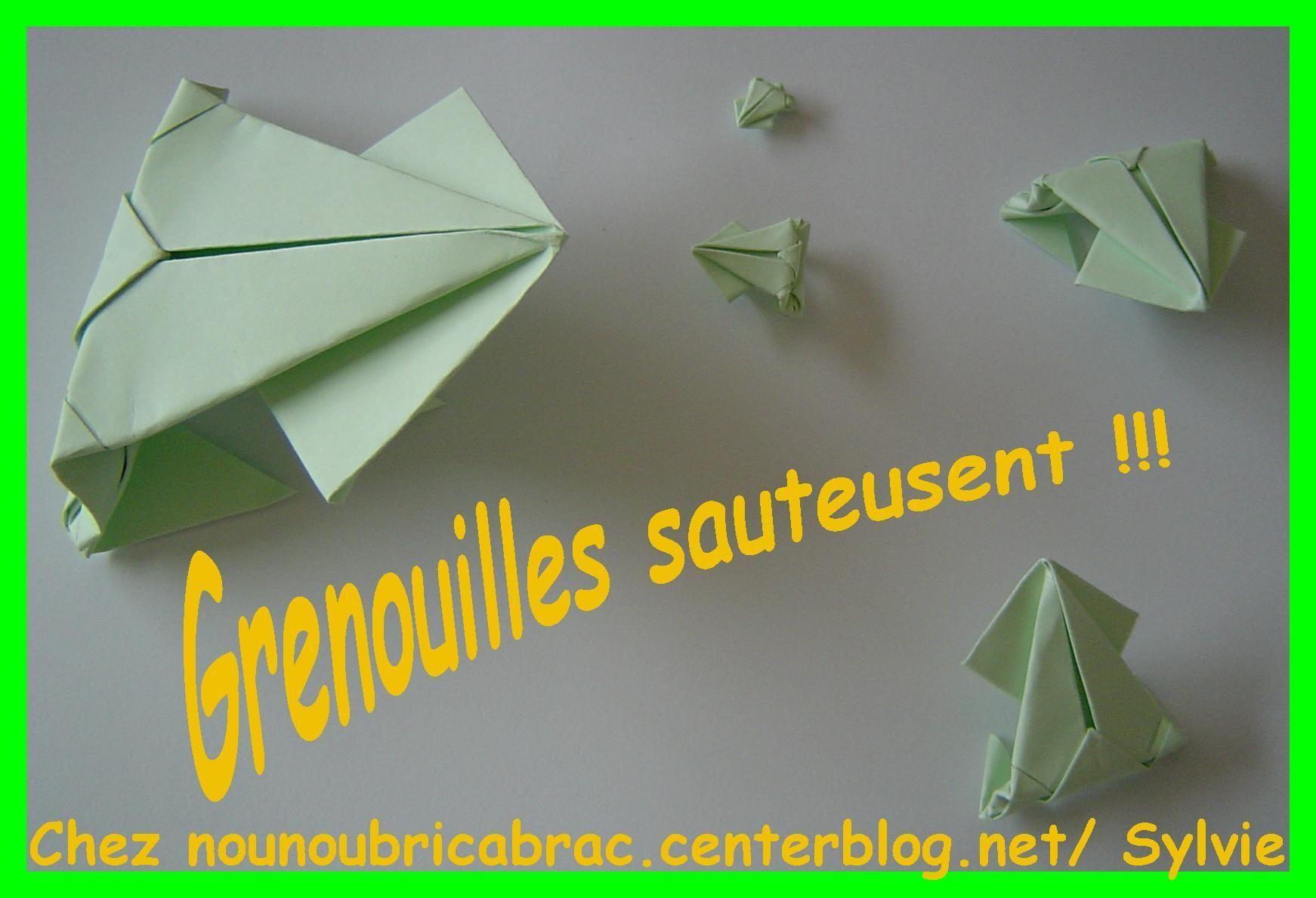 Croa Grenouille Sauteuse !!!