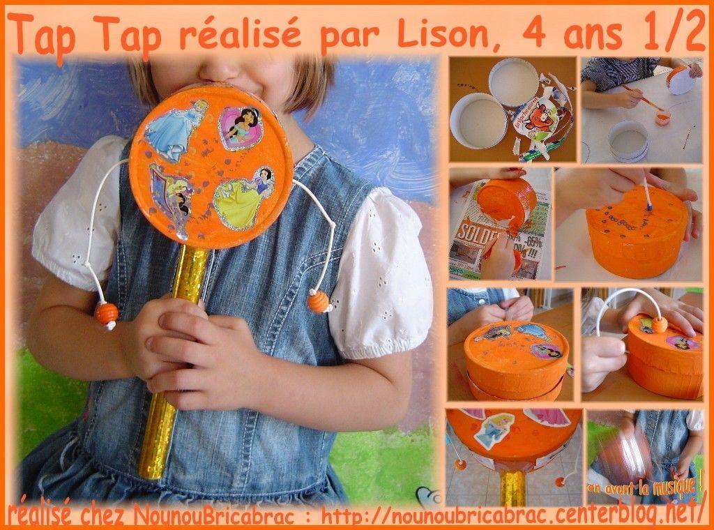 Tap Tap *3* réalisé par Lison, 4 ans 1/2