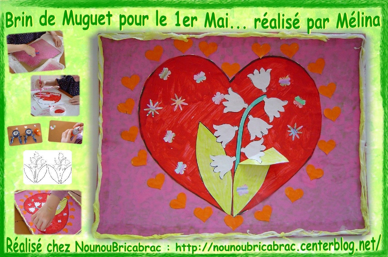 Brin de Muguet pour le 1er Mai... réalisé par Mélina