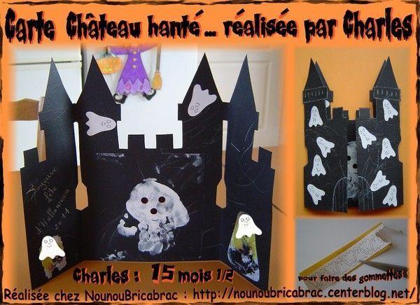 Carte *Château Hanté* réalisée avec Charles