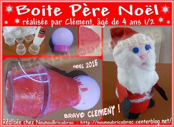 Bricolages pour noel deco a realiser soi meme - Deco noel avec boite a oeuf ...