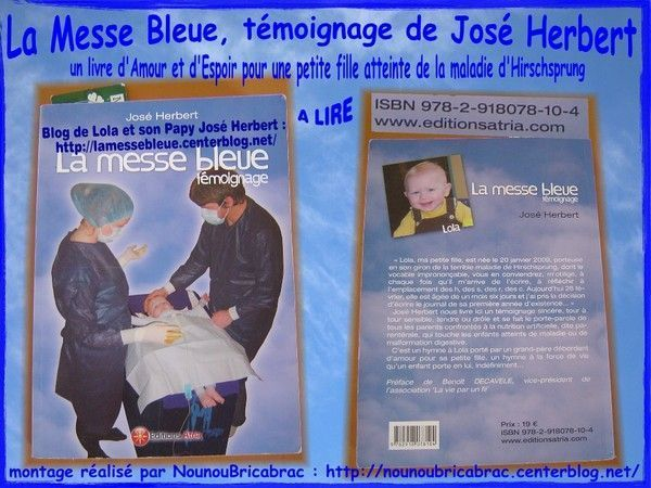 Blog de Lola &quot;La Messe Bleue&quot;... aussi un livre !!!