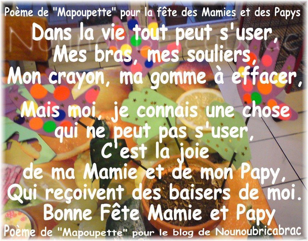 Dans la vie, tout peut s'user... poème de Mapoupette