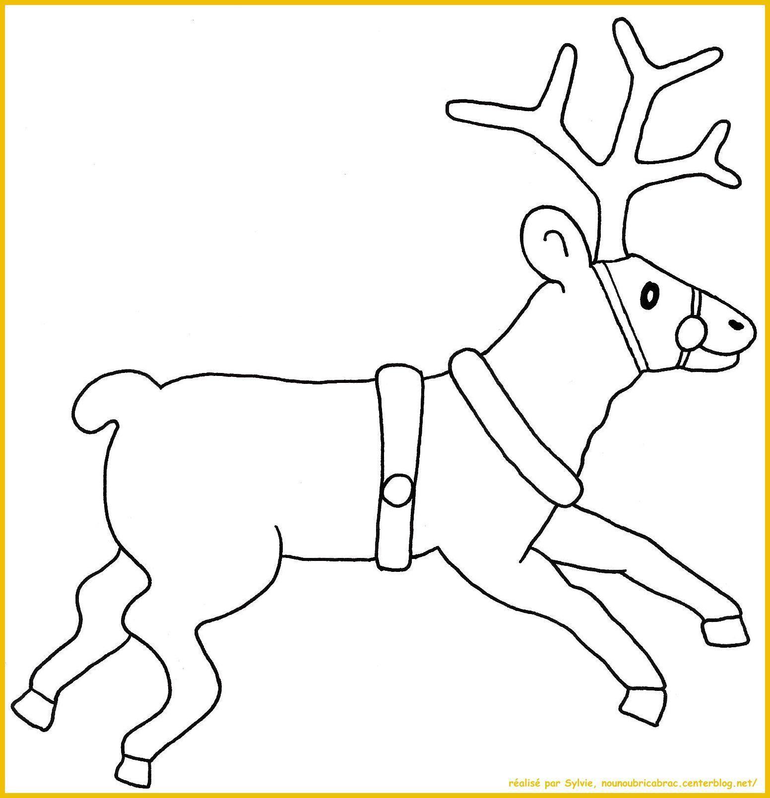 Comment dessiner un renne - Comment dessiner un pere noel facilement ...