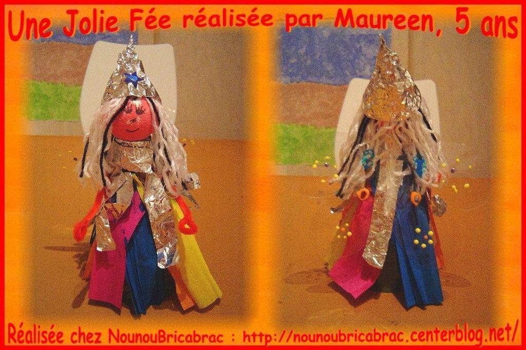 Jolie Fée... fabriquée par Maureen, 5 ans
