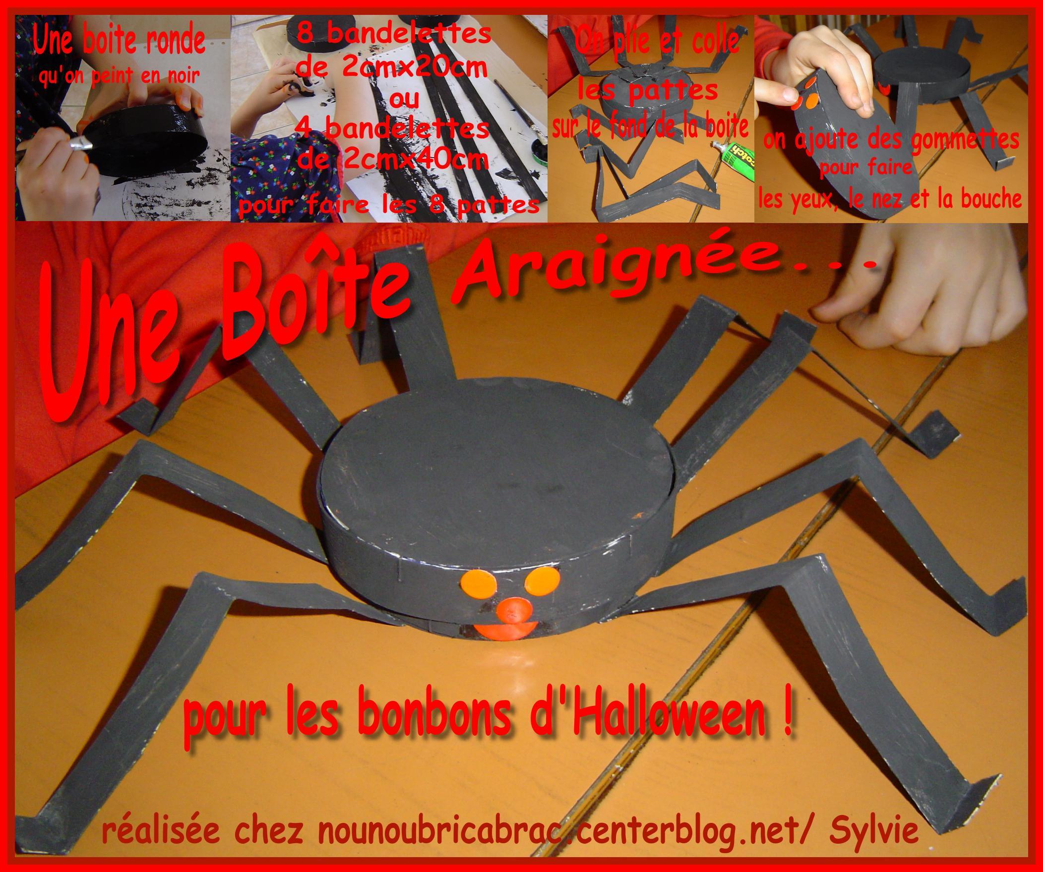 Araignée... pour Halloween