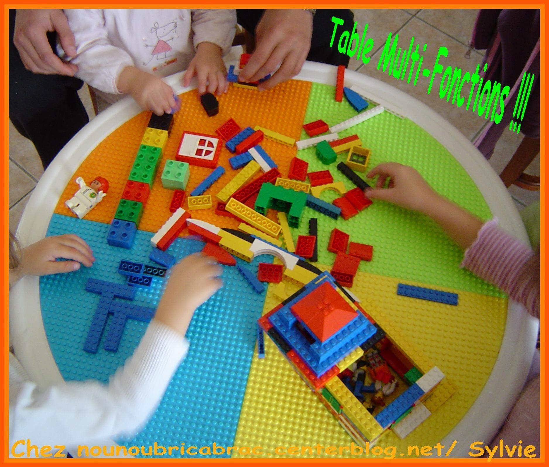 Table pour enfants multi fonction table ronde enfant - Table ronde pour enfant ...