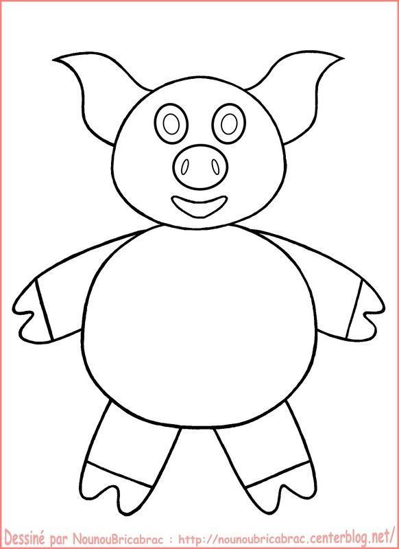 Cochon...  colorier