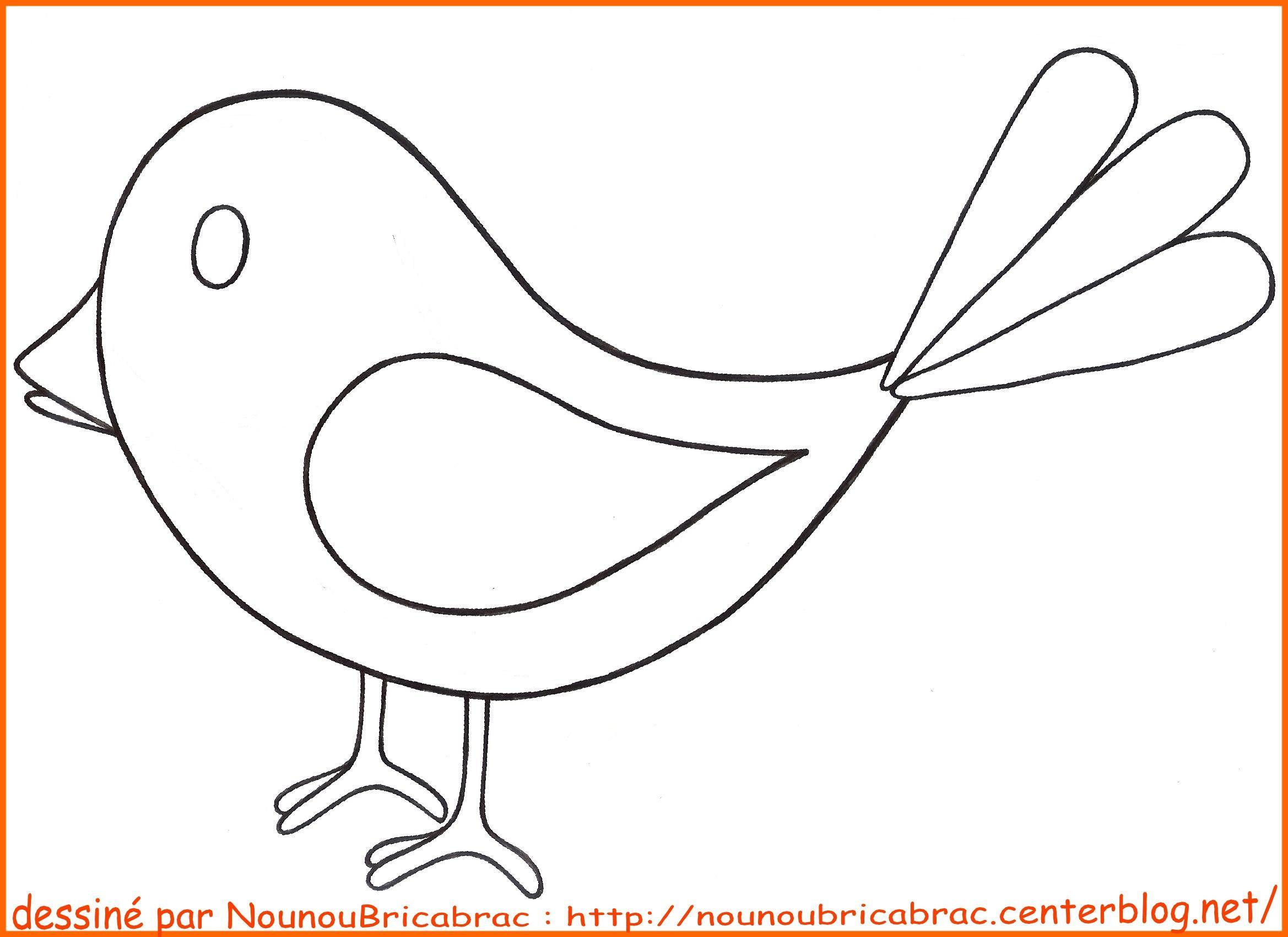 Apprendre a dessiner oiseau - Dessin d oiseau a imprimer ...