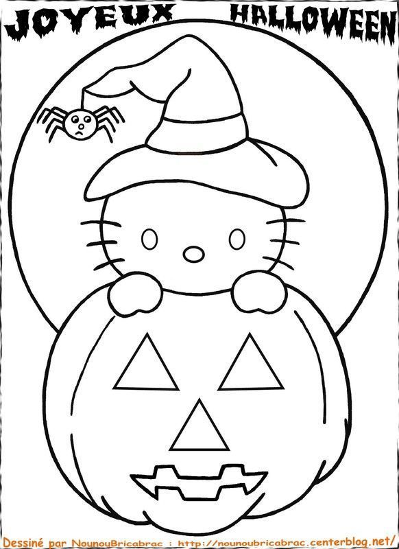 Chaton hello kitty coeur colorier comment dessiner - Comment dessiner hello kitty ...