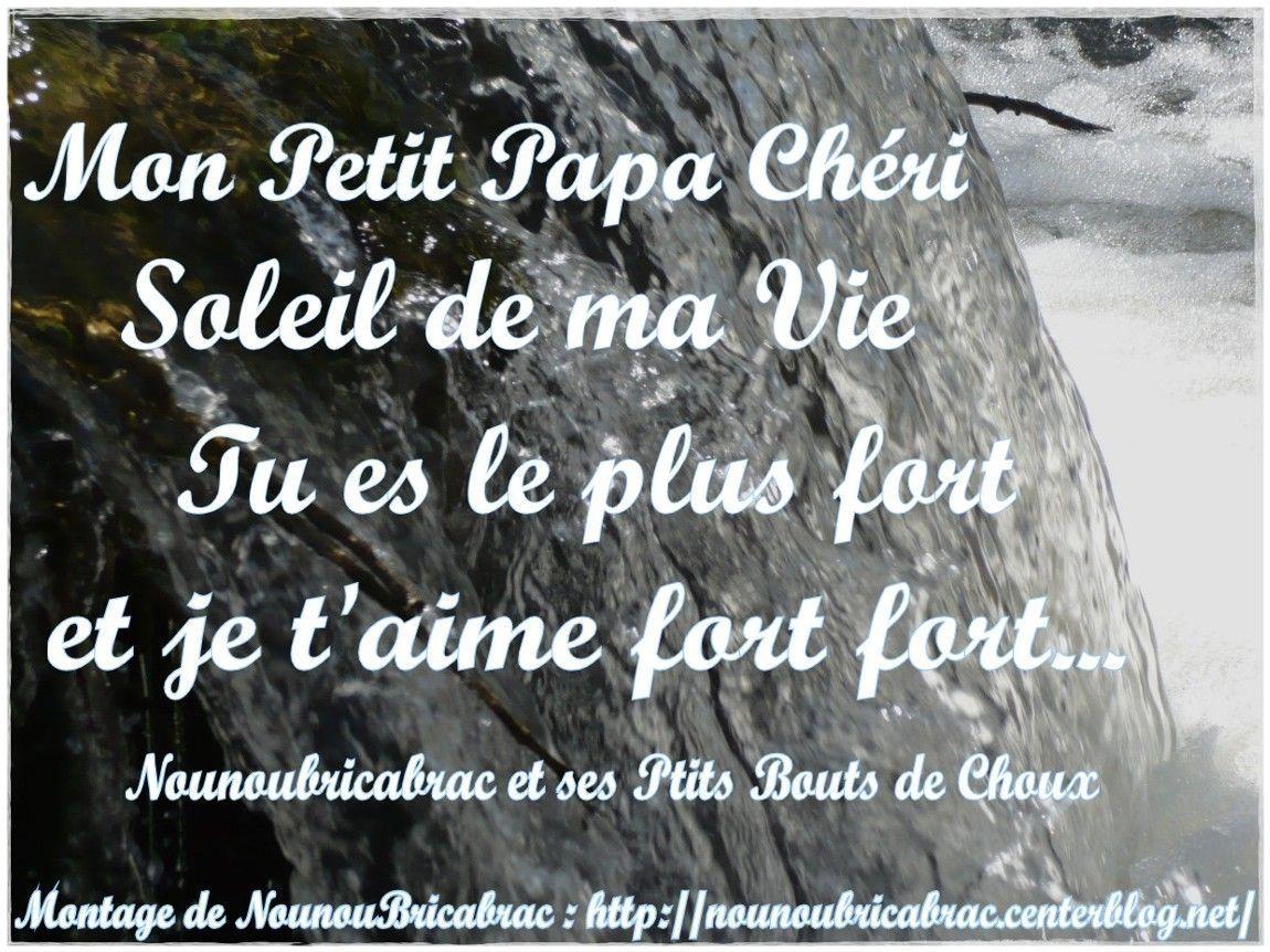 Mon Petit Papa Chéri... petit poème