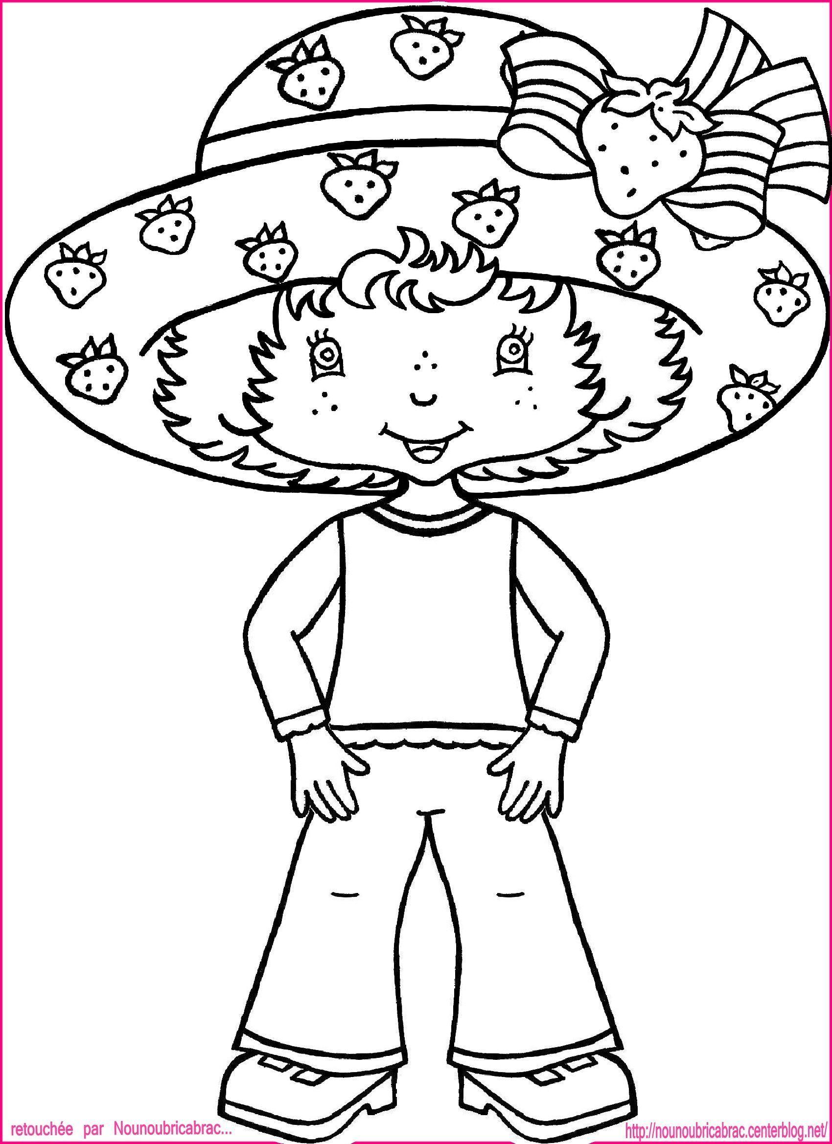 Marionnette charlotte aux fraises - Charlotte aux fraises dessin ...