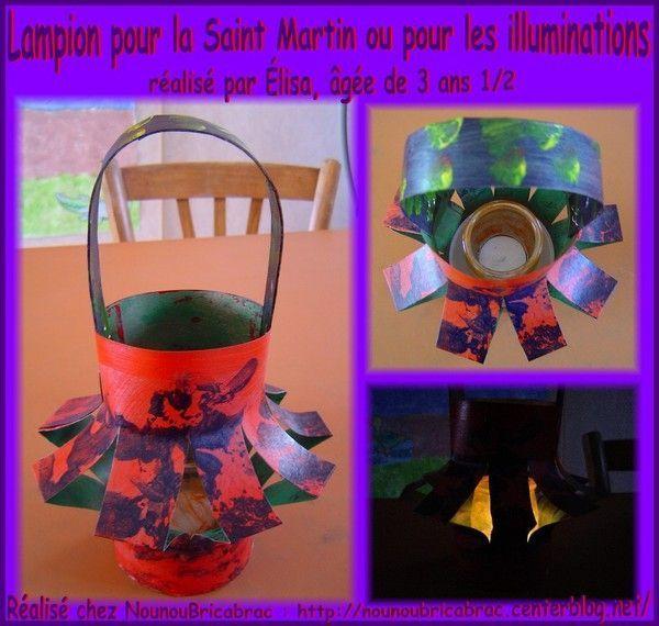 Lampion pour la Saint Martin ou les illuminations d'Élisa