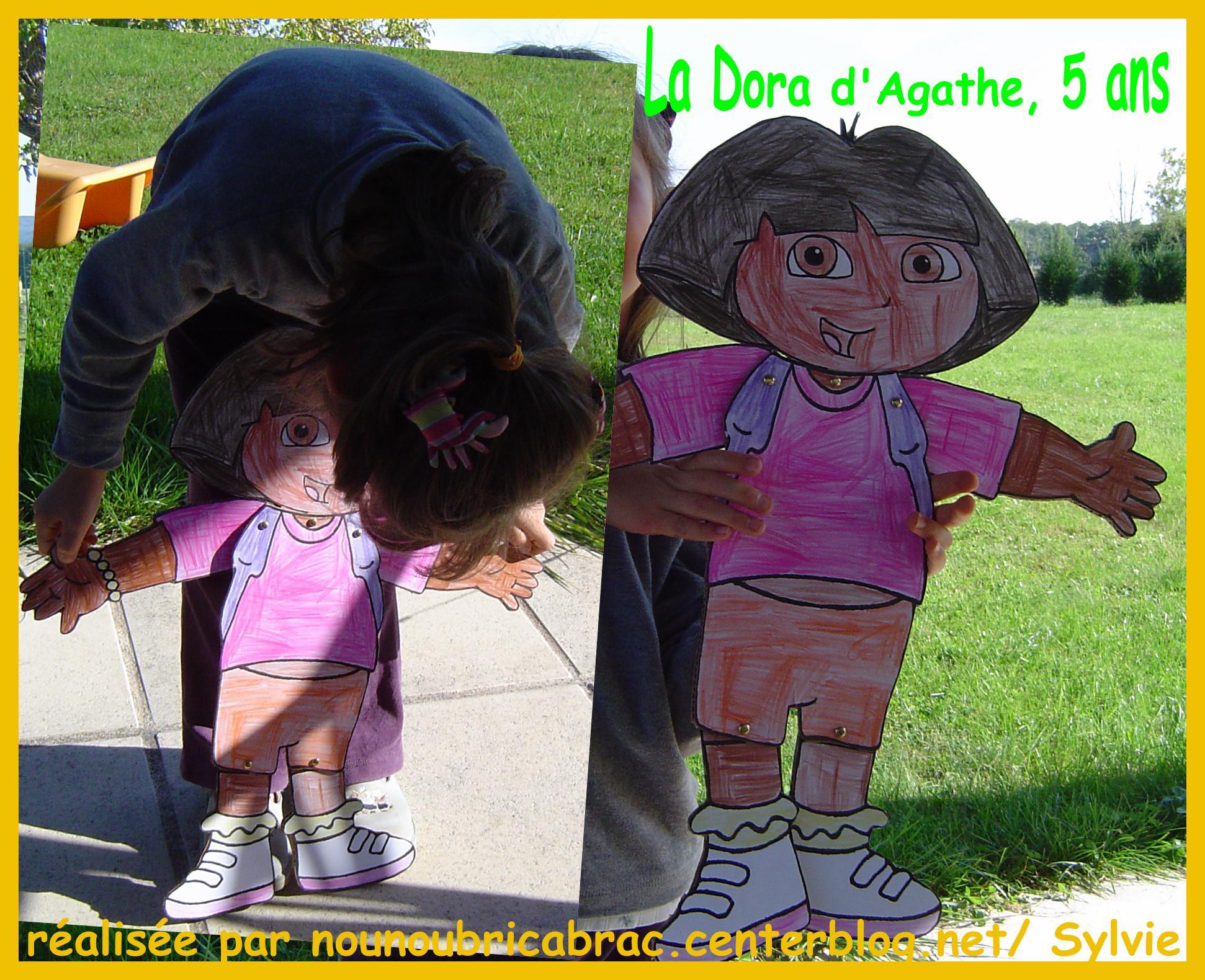 Marionnette Dora d'Agathe