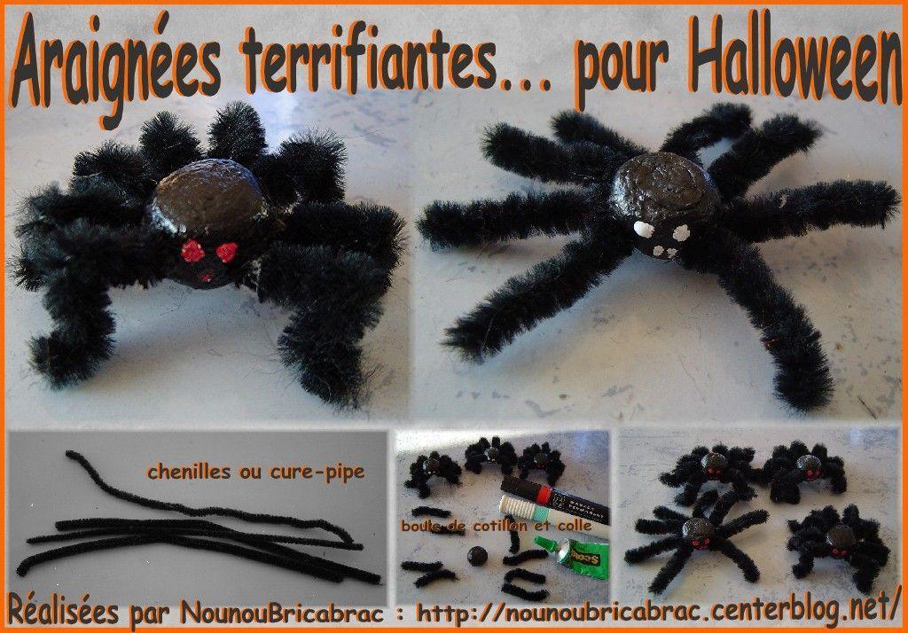 Araignées terrifiante... pour Halloween
