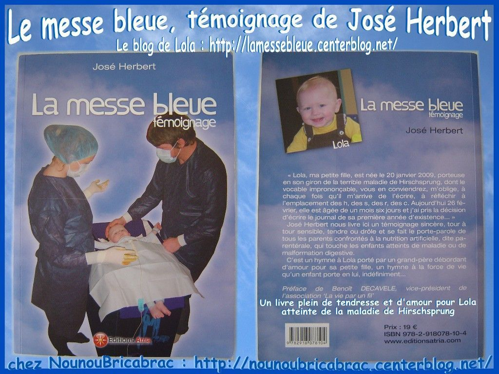 La Messe Bleue... un livre et un blog, celui de Lola