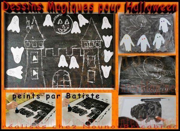 Dessins magiques d'Halloween - Batiste