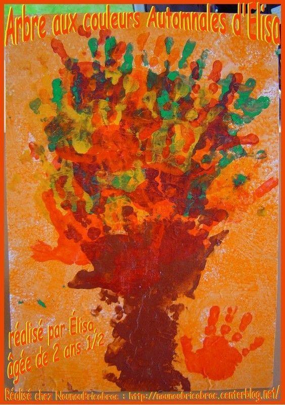Arbre aux couleurs de l'automne, réalisé par Élisa
