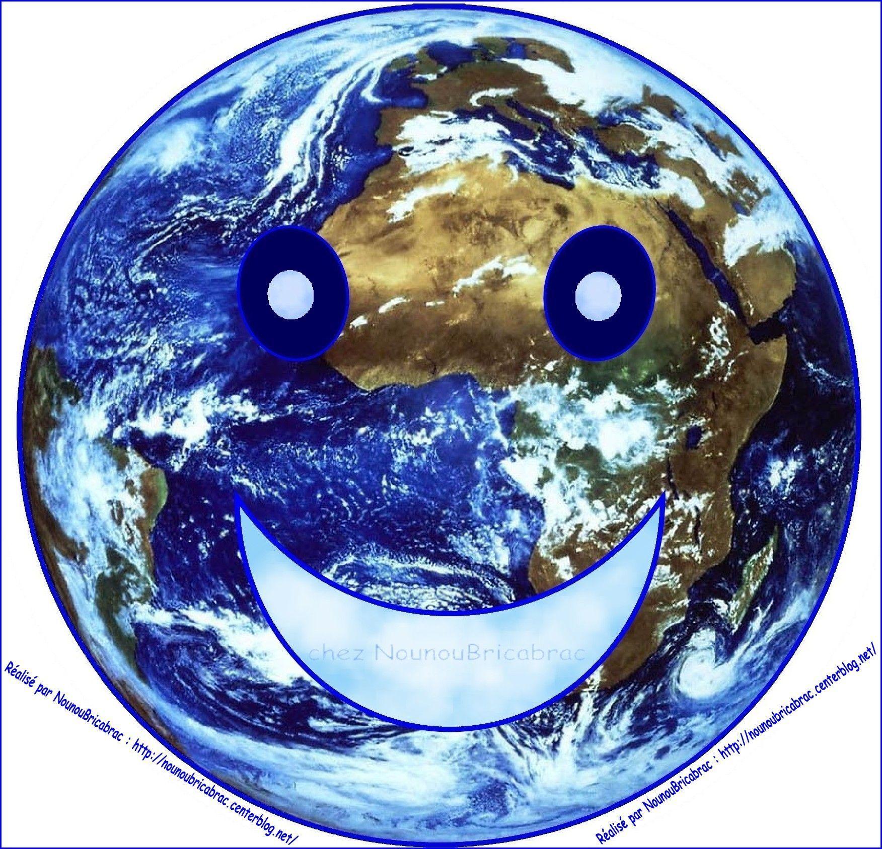 Puzzle du jeu *Apprendre à prendre soin de ma Terre*, Ma Terre Souriante