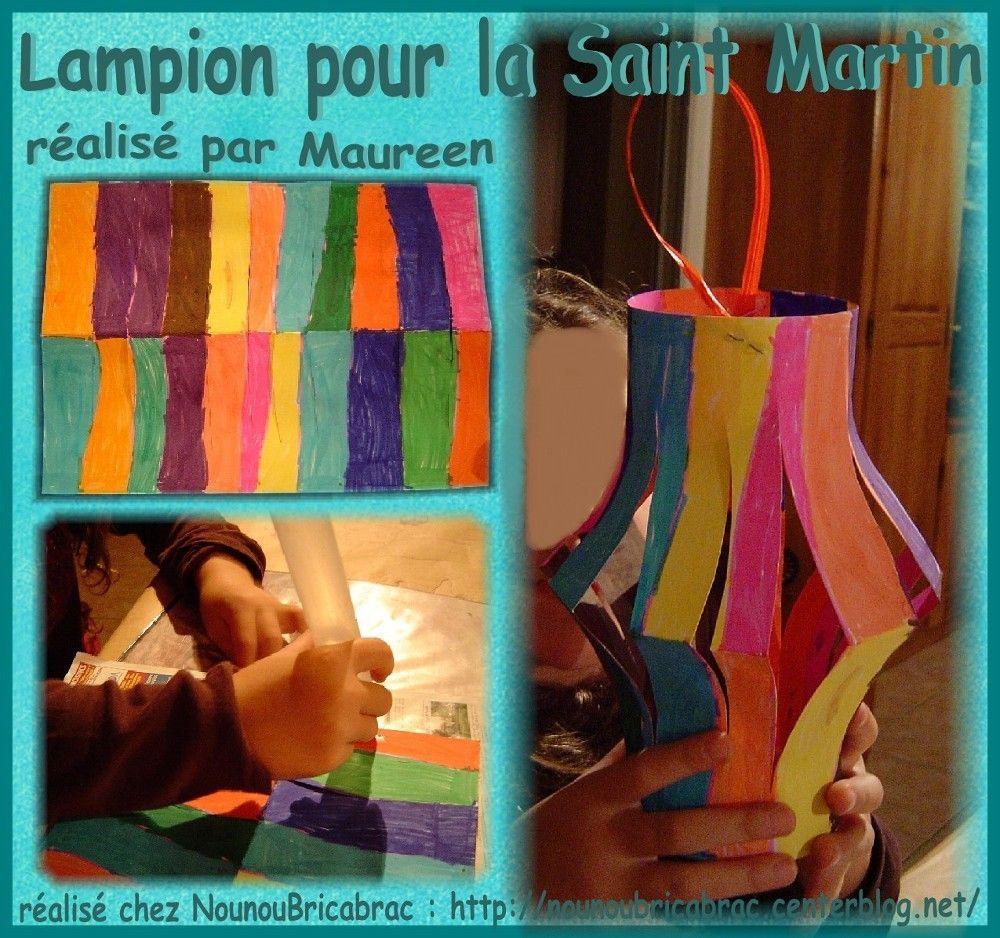 Lampion pour la Saint Martin réalisé par Maureen