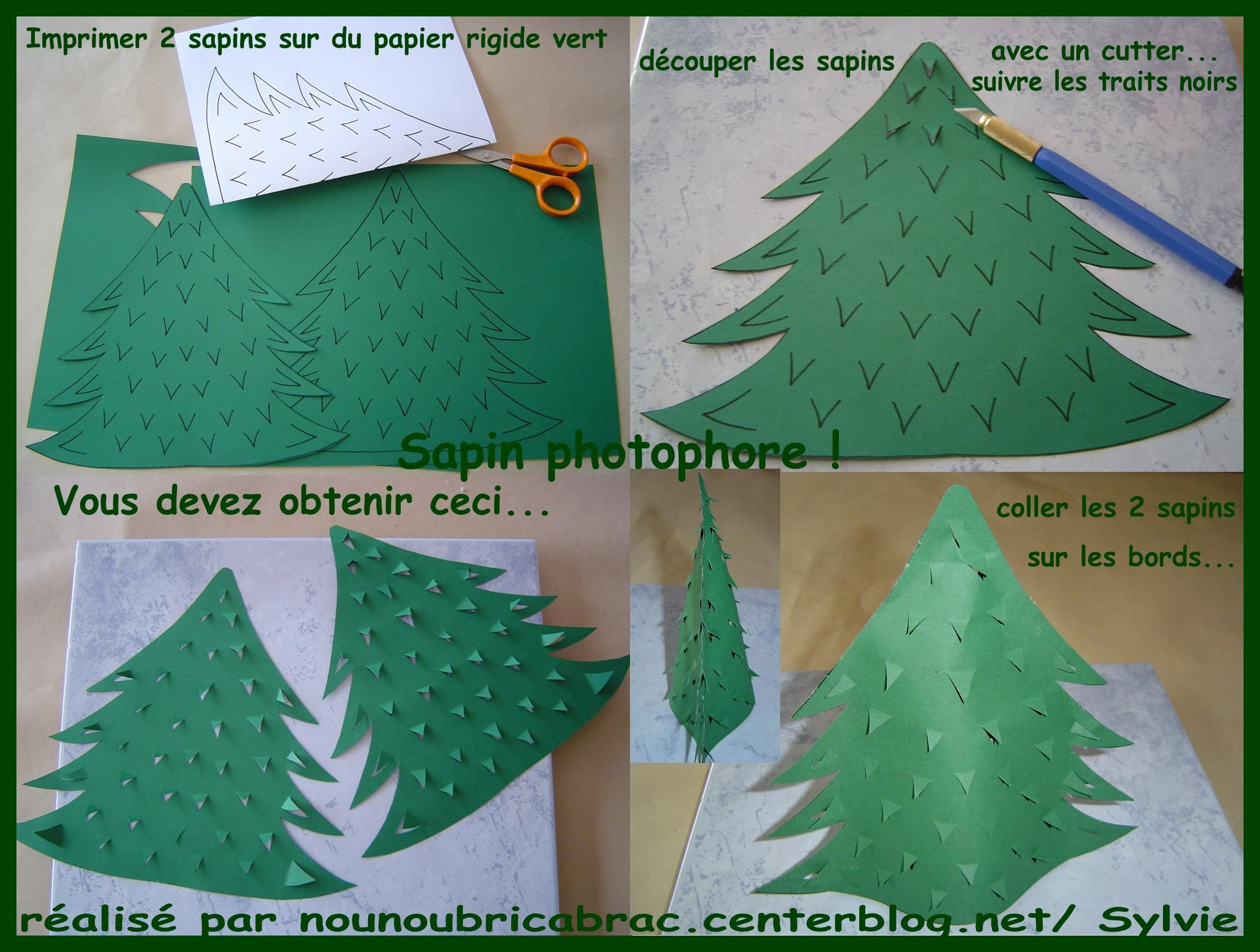 Comment faire des sapins de noel en paper mache crafts - Photophore a faire soi meme ...