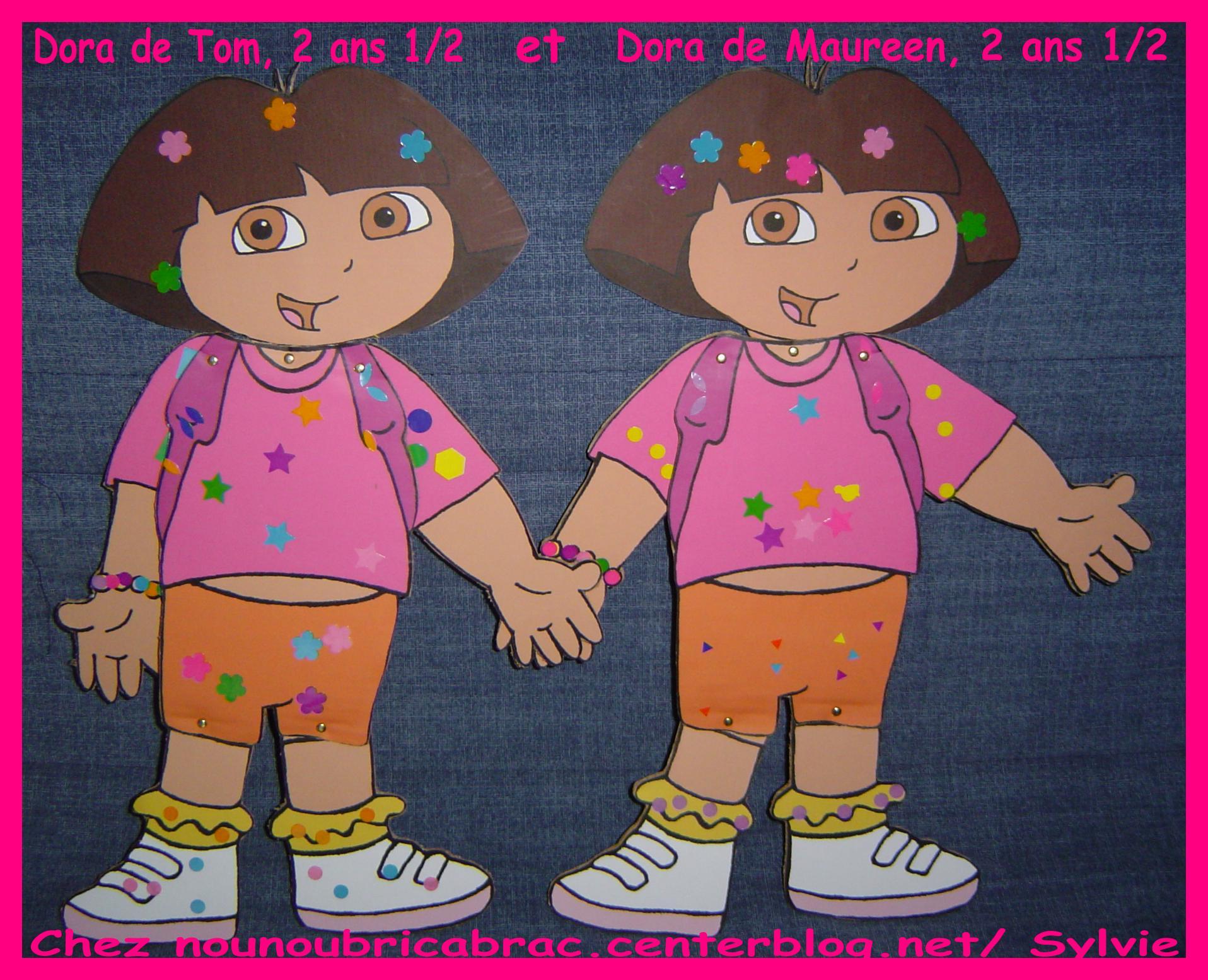 Marionnette de Dora pour Tom et Maureen