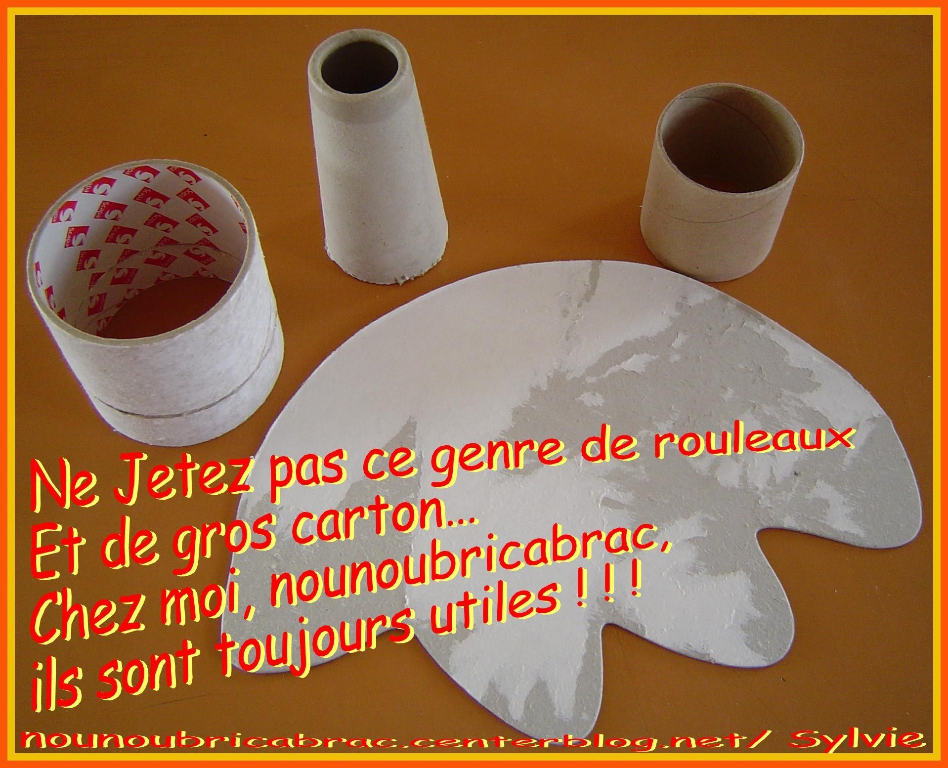 Ne Jetez Pas... ce genre de rouleaux... a peut toujours servir !