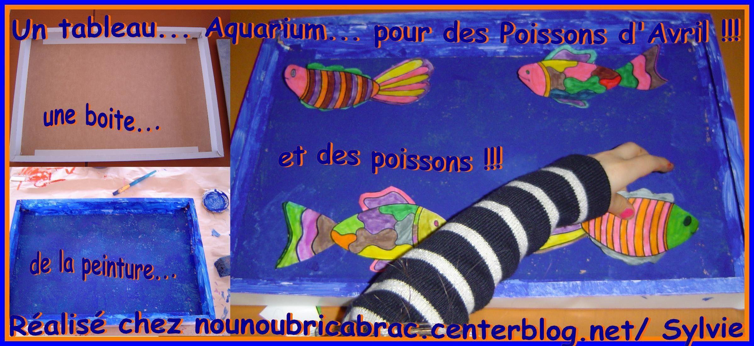 Comment réaliser un Aquarium pour Poissons d'Avril ???
