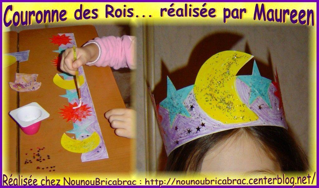 Bricolages pour l epiphanie couronne et galette page 2 - Couronne epiphanie maternelle ...