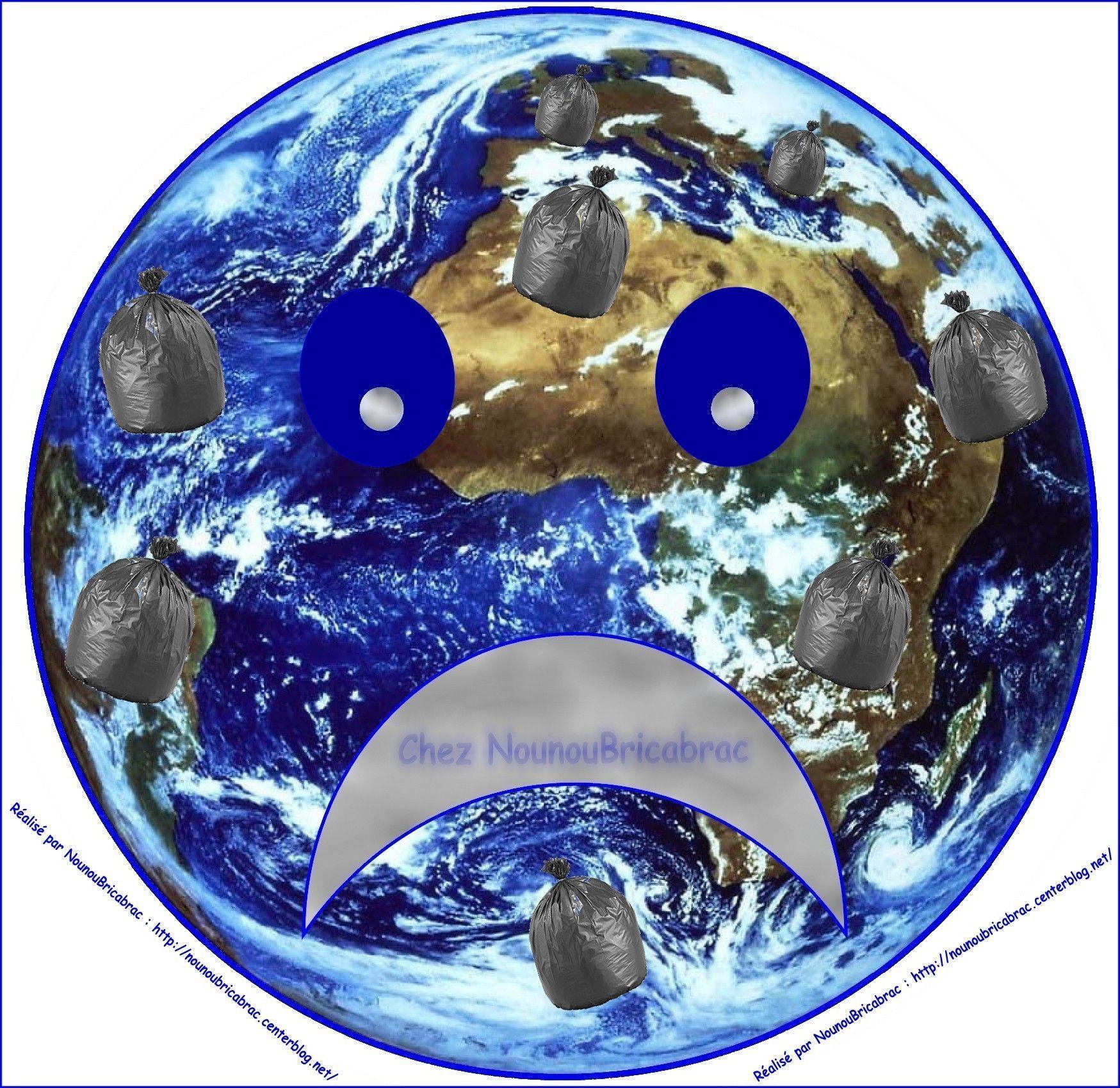 Puzzle du jeu *Apprendre à prendre soin de ma Terre*, Ma Terre Triste
