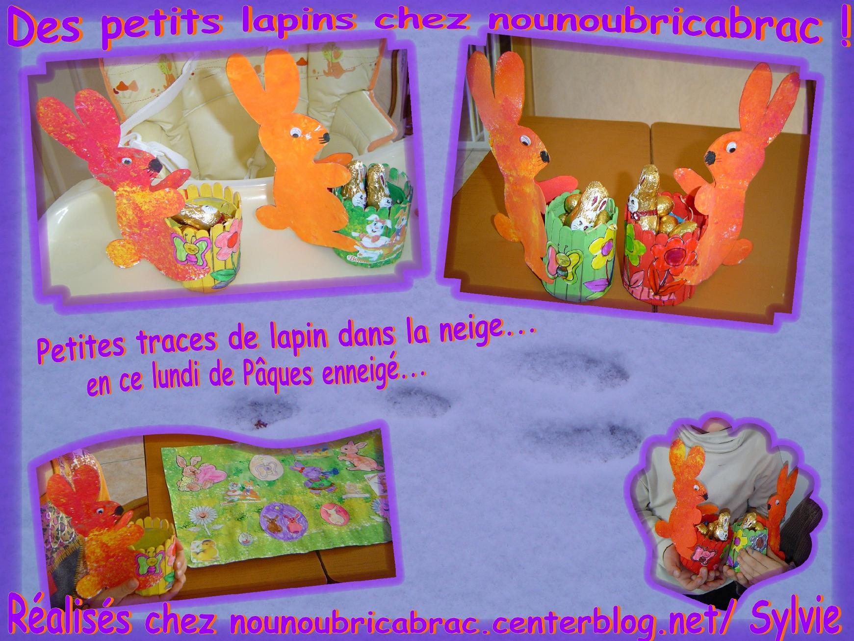 Lapin de Pâques *6* chez Nounoubricabrac...