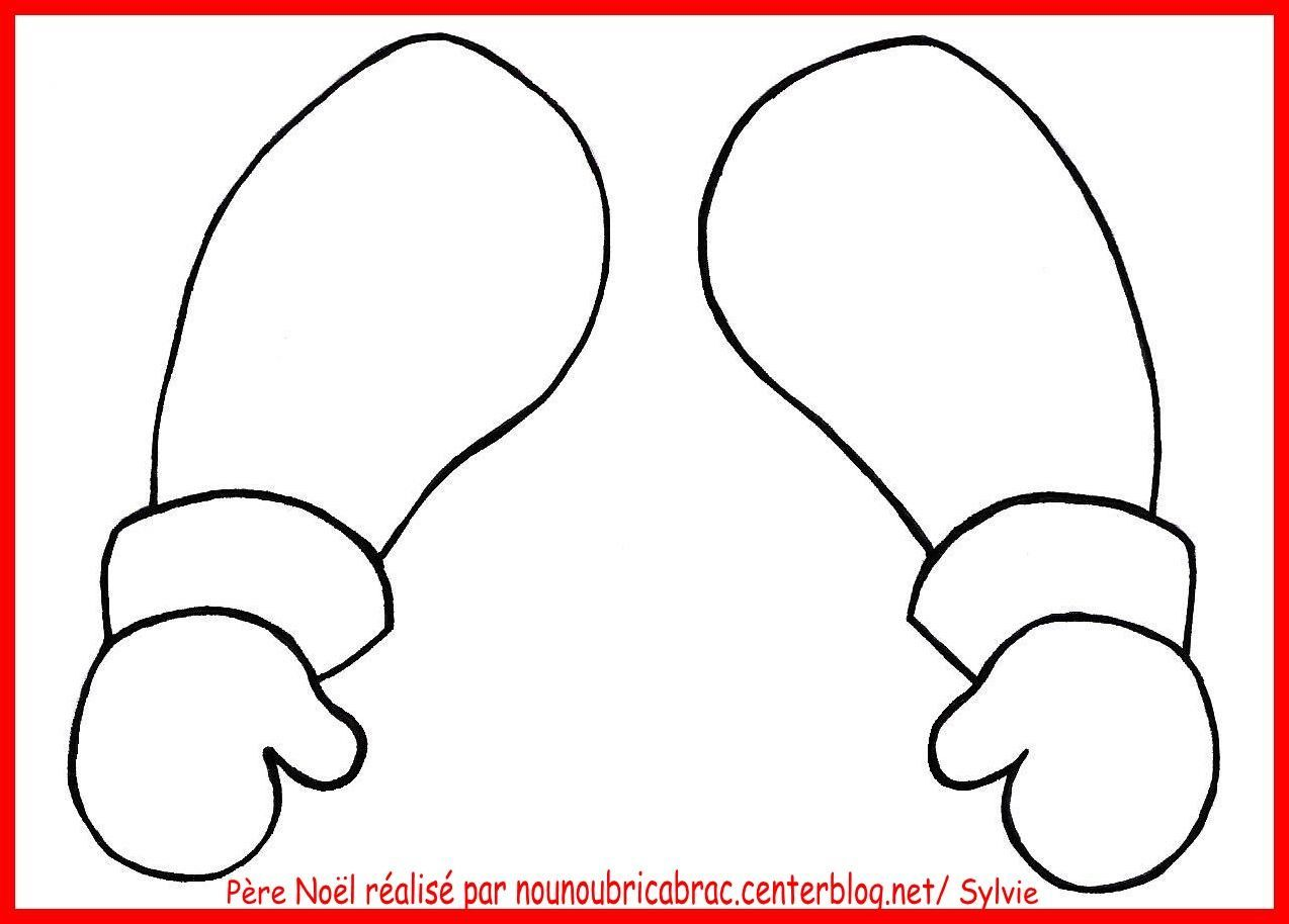 Marionnette p re no l les bras centerblog - Bricolage de noel a imprimer ...
