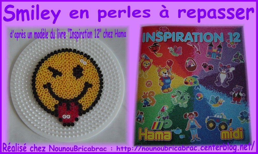 Bricolages perles - Smiley perle a repasser ...