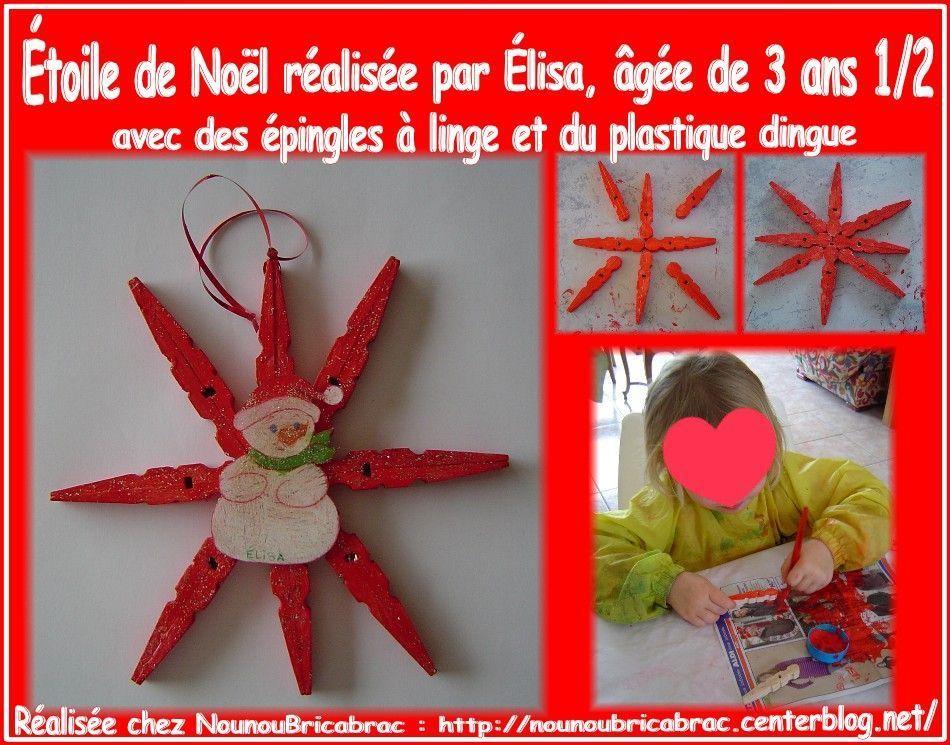 Bricolages pour noel deco a realiser soi meme page 4 - Activite manuelle avec pinces linge bois ...