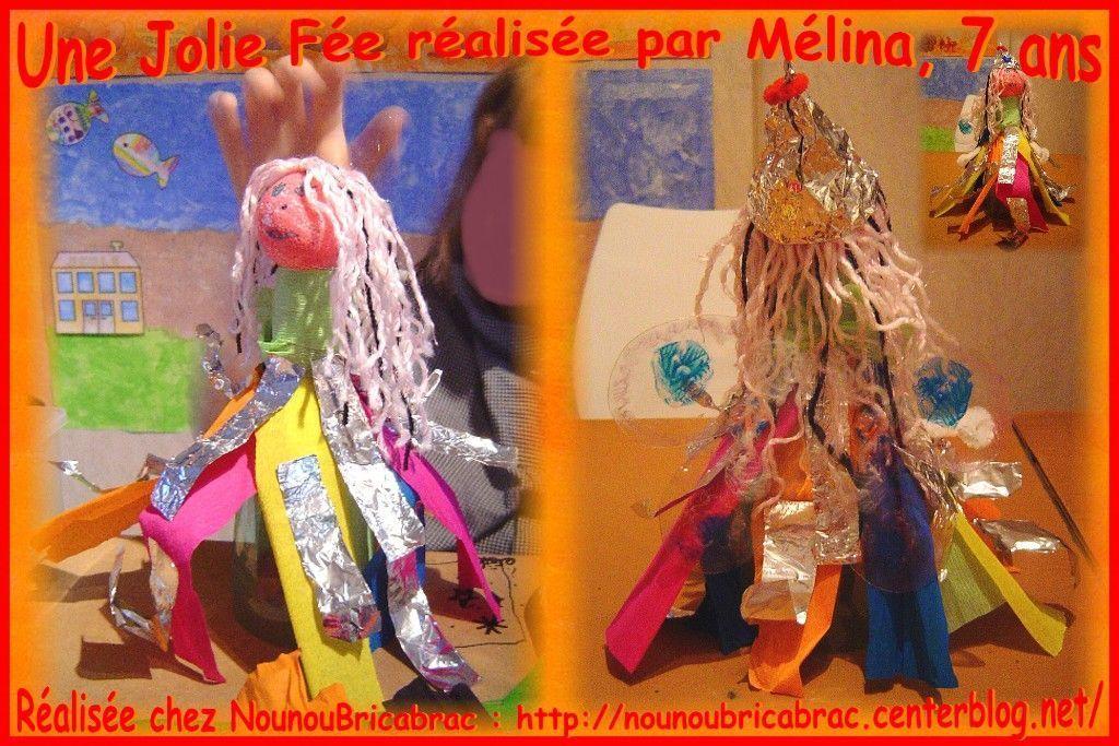 Jolie Fée... fabriquée par Mélina, 7 ans