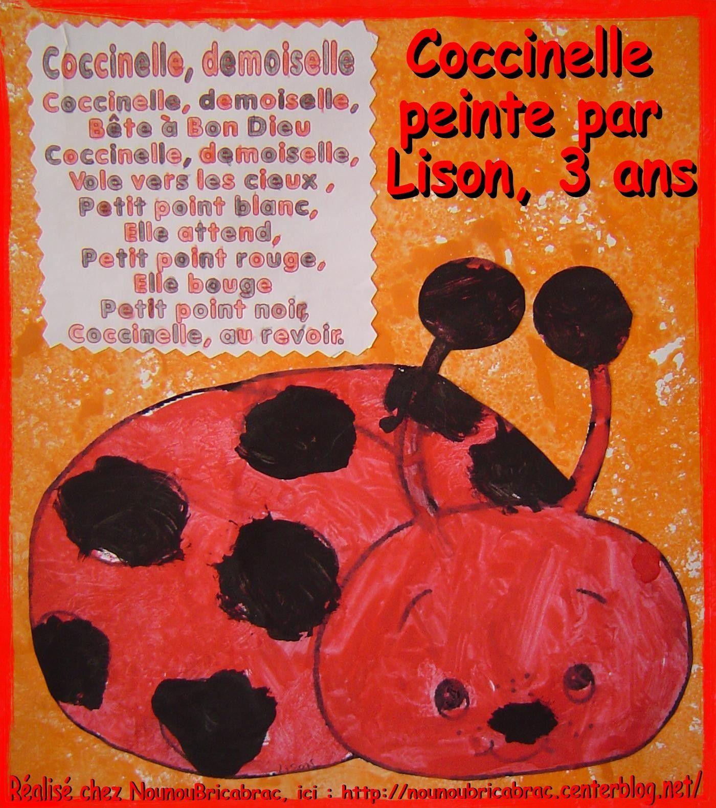 Coccinelle Demoiselle... Comptine pour enfants
