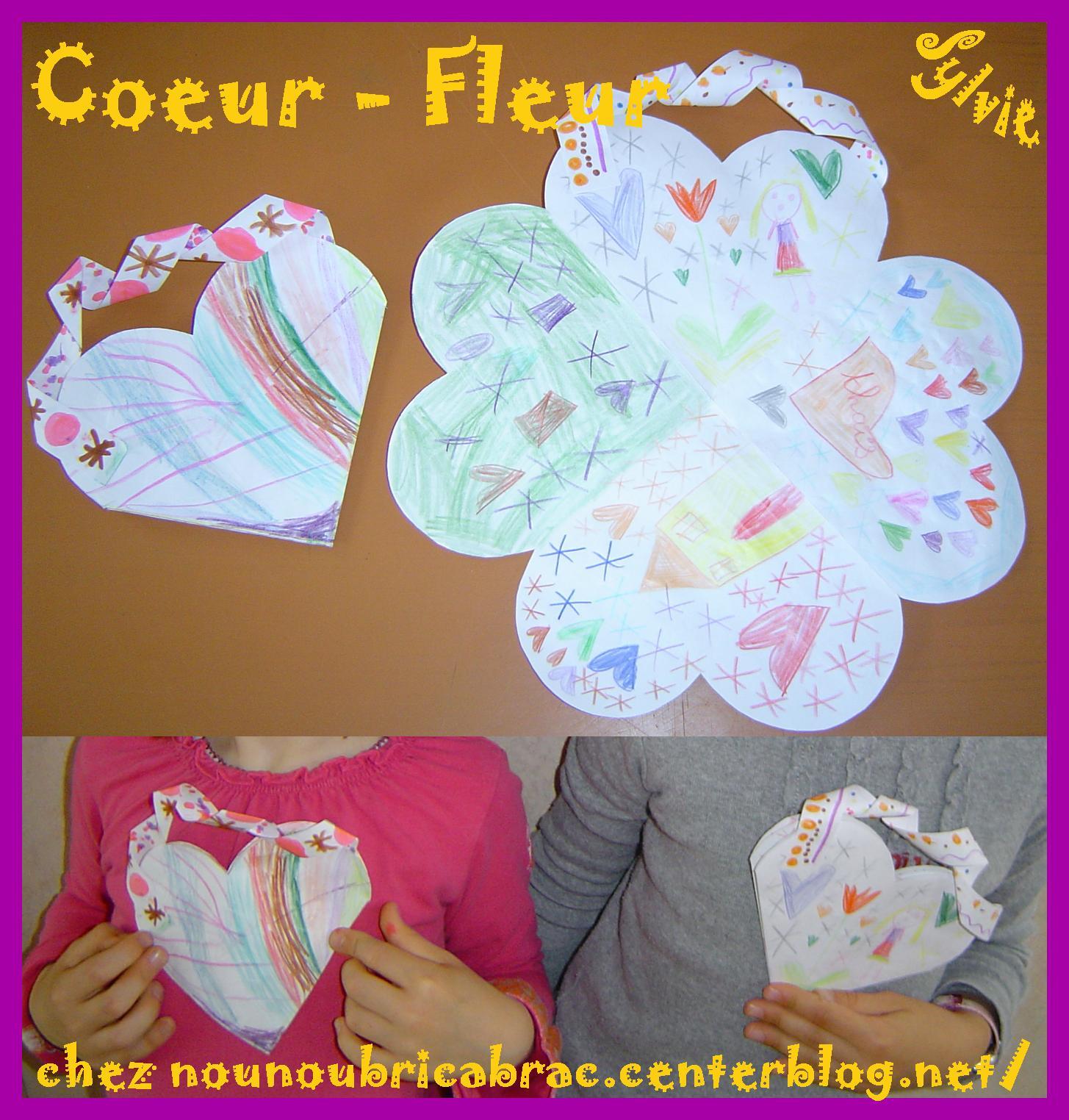 Carte Coeur Fleur... pour offrir à sa maman