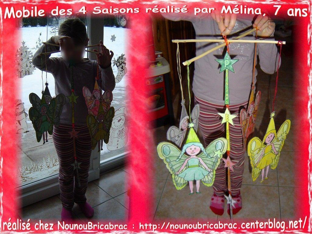 Mobile... Féerie des 4 Saisons *3* réalisé par Mélina