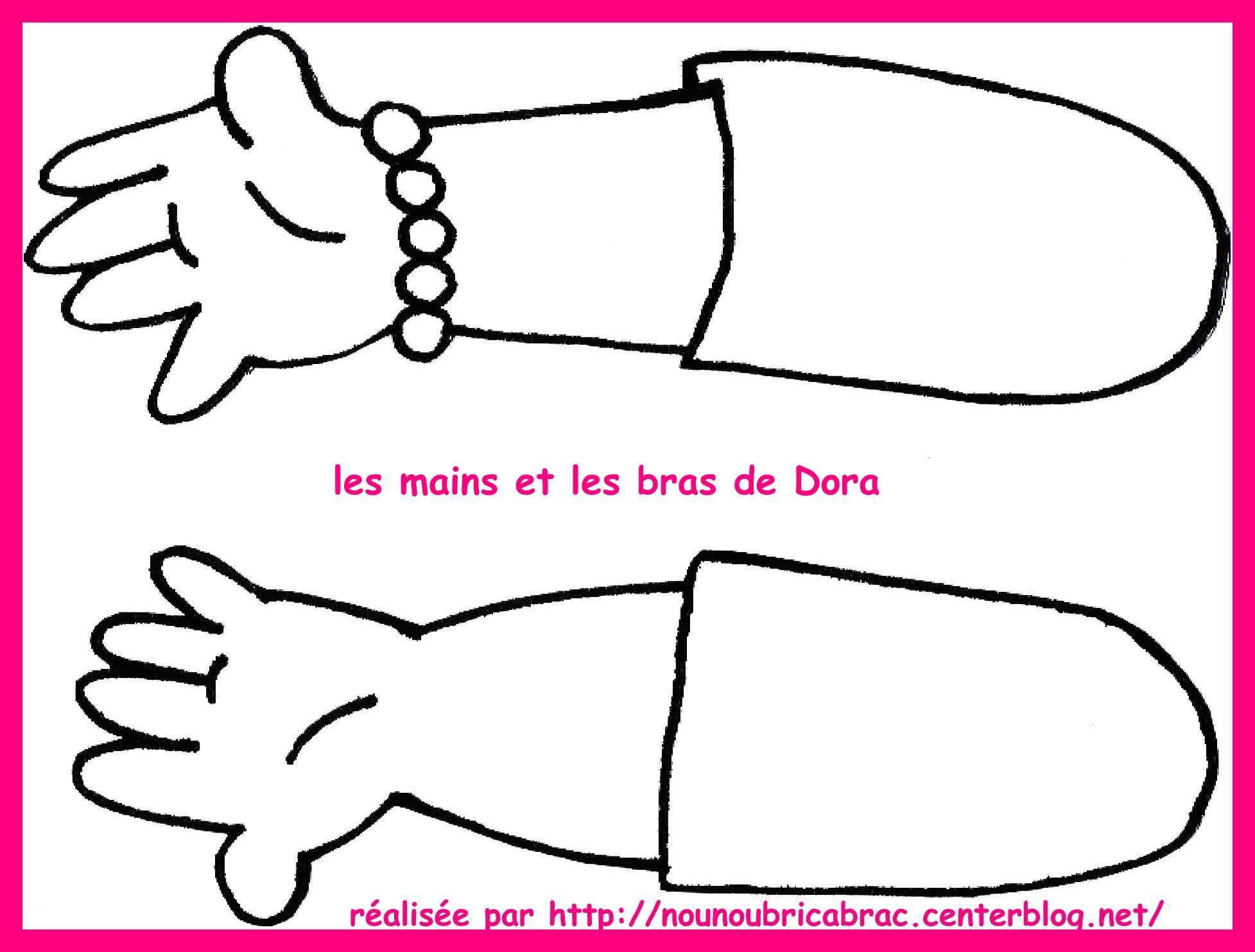 Marionnette de Dora