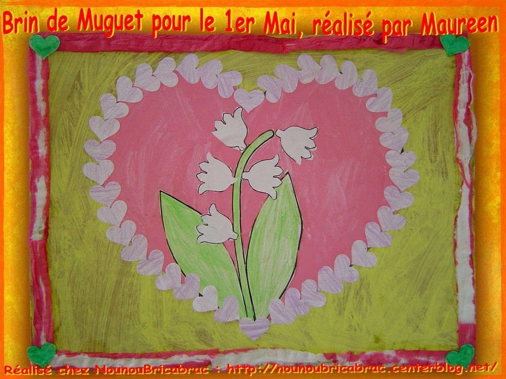Brin de Muguet pour le 1er Mai... réalisé par Maureen