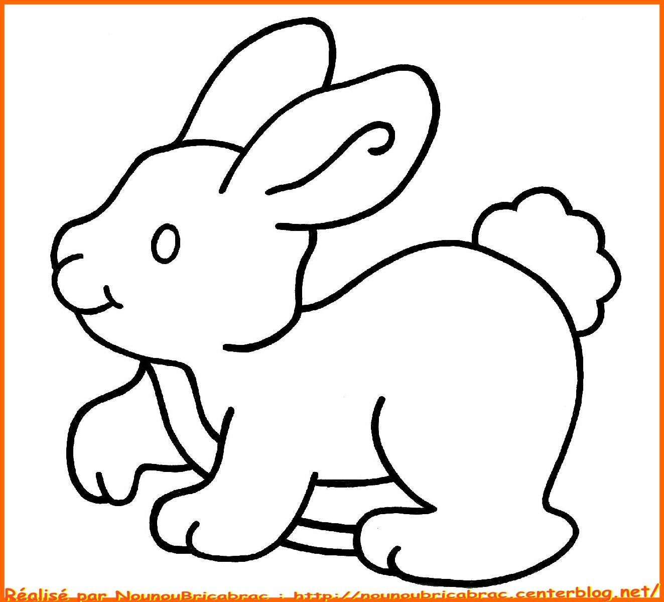 Coloriages animaux page 3 - Photo de lapin a imprimer ...