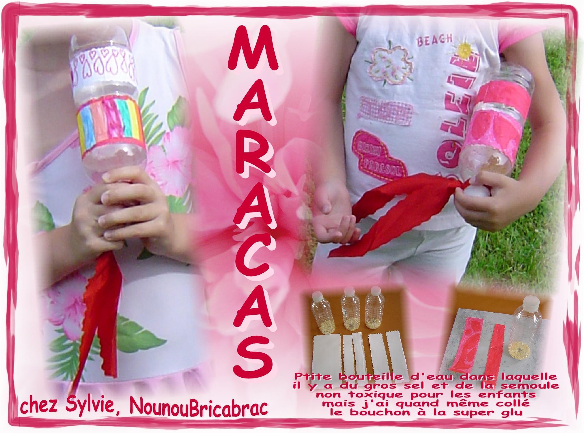 Maracas *2*... petite activité facile à réaliser !