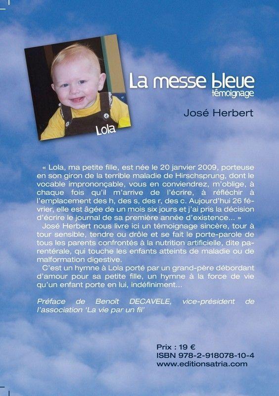 La Messe Bleue… témoignage de José HERBERT aux éditions Atria